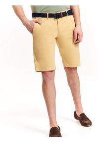 Żółte szorty TOP SECRET