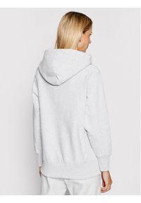 Champion Bluza Small Script Logo Reverse Weave Hoodie 113150 Szary Regular Fit. Kolor: szary