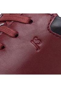 Josef Seibel - Sneakersy JOSEF SEIBEL - Thaddeus 10 41410 448 401 Rot/Kombi. Kolor: czerwony. Materiał: skóra. Szerokość cholewki: normalna