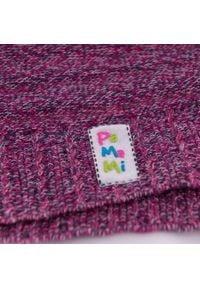 Wiosenna czapka dla dziewczynki PaMaMi- Fioletowy. Kolor: fioletowy. Materiał: bawełna, elastan. Sezon: wiosna