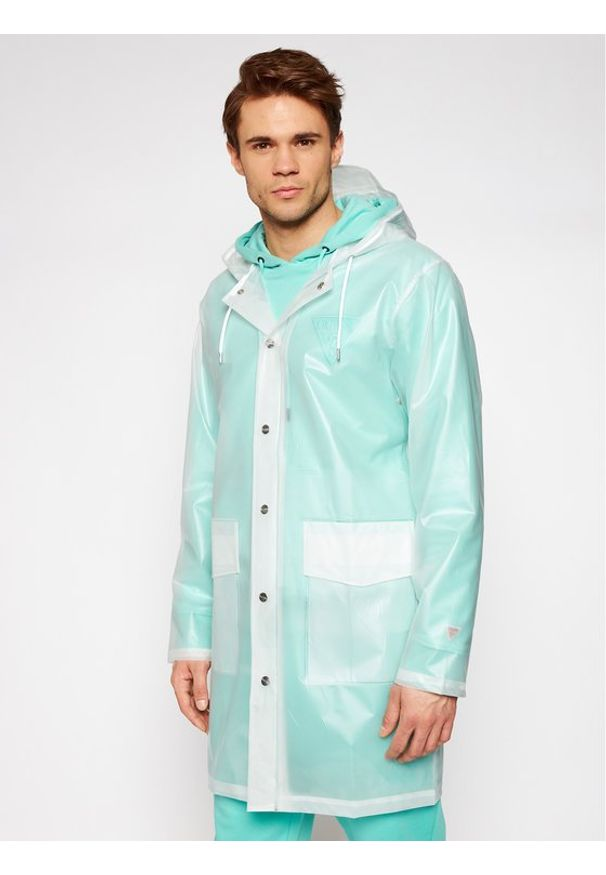 Rains Kurtka przeciwdeszczowa Unisex 1269 Biały Regular Fit. Kolor: biały