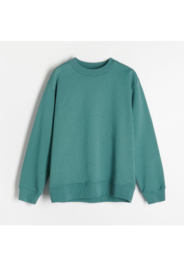 Turkusowa bluza Reserved