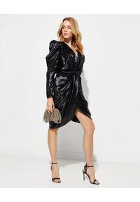 ISABEL MARANT - Sukienka mini Issolya. Kolor: czarny. Materiał: jedwab, poliester. Długość: mini