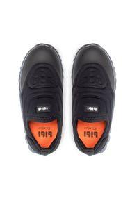 Bibi - Sneakersy BIBI - Roller Celebration 1079071 Black. Okazja: na co dzień. Kolor: czarny. Materiał: materiał. Szerokość cholewki: normalna. Styl: casual