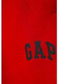 Czerwone spodnie dresowe GAP