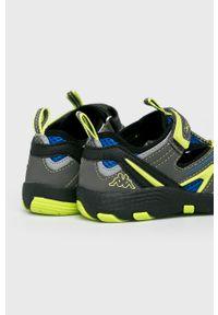 Kappa - Sandały dziecięce Reminder. Nosek buta: okrągły. Zapięcie: rzepy. Kolor: szary. Materiał: syntetyk, guma, materiał #4