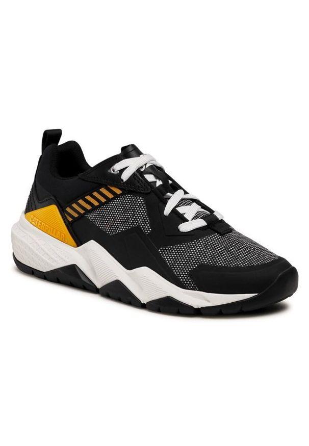 CATerpillar Sneakersy Groundwork Mesh P110396 Czarny. Kolor: czarny. Materiał: mesh