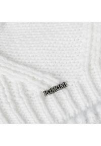 Biała czapka zimowa PaMaMi #3