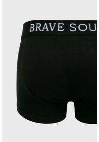 Czarne bokserki Brave Soul