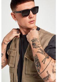Hawkers - Okulary przeciwsłoneczne CORE POLARIZED BLACK. Kolor: czarny