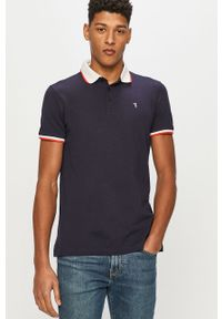 Niebieska koszulka polo Trussardi Jeans na co dzień, polo, casualowa