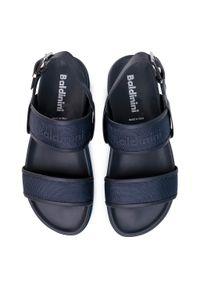 Niebieskie sandały Baldinini na lato