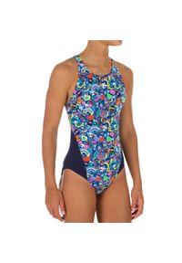 NABAIJI - Strój jednoczęściowy pływacki Kamiye Roller dla dzieci. Kolor: niebieski. Materiał: poliamid, materiał, poliester