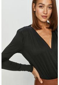 Czarna bluzka Vero Moda casualowa, na co dzień, długa