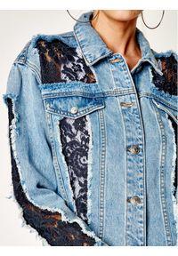 Niebieska kurtka jeansowa My Twin