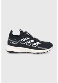 adidas Performance - Buty Terrex Voyager. Nosek buta: okrągły. Zapięcie: sznurówki. Kolor: czarny. Materiał: guma