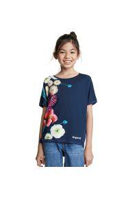 Niebieski t-shirt Desigual