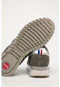 Colmar - Buty. Nosek buta: okrągły. Zapięcie: sznurówki. Kolor: szary. Materiał: guma, syntetyk, materiał, skóra ekologiczna, zamsz. Szerokość cholewki: normalna #2