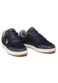 Etnies - Sneakersy ETNIES - Marana 4101000403 Navy/Tan. Okazja: na co dzień. Kolor: niebieski. Materiał: zamsz, materiał, skóra ekologiczna, skóra. Szerokość cholewki: normalna. Styl: casual, elegancki, sportowy