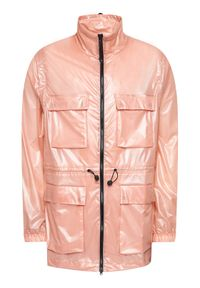 Rains Kurtka przeciwdeszczowa Unisex 1846 Różowy Regular Fit. Kolor: różowy #13