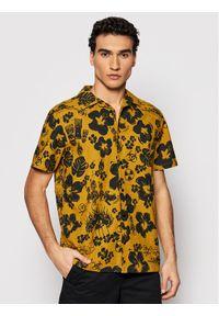 Żółta koszula casual Vans