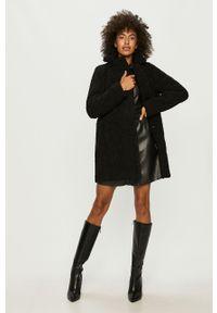 Czarny płaszcz Noisy may casualowy, na co dzień