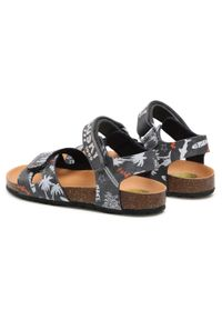 Szare sandały