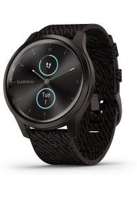 Czarny zegarek GARMIN klasyczny