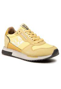 Napapijri - Sneakersy NAPAPIJRI - Vicky NP0A4FKIY Fressia Yellow A71. Okazja: na co dzień. Kolor: żółty. Materiał: zamsz, materiał, skóra. Szerokość cholewki: normalna. Sezon: lato. Styl: casual