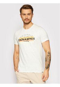 Jack & Jones - Jack&Jones T-Shirt Cabana 12188501 Szary Regular Fit. Kolor: szary