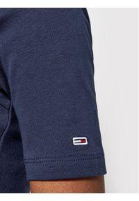 Tommy Jeans Body Cut Out DW0DW09784 Granatowy Slim Fit. Kolor: niebieski