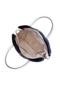 Szara torebka klasyczna Wittchen na wiosnę, z aplikacjami, klasyczna