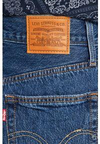 Levi's® - Levi's - Spódnica. Okazja: na spotkanie biznesowe. Stan: podwyższony. Kolor: niebieski. Materiał: tkanina, denim, materiał. Wzór: gładki. Styl: biznesowy