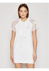Biała sukienka Liu Jo Sport sportowa, na co dzień, prosta