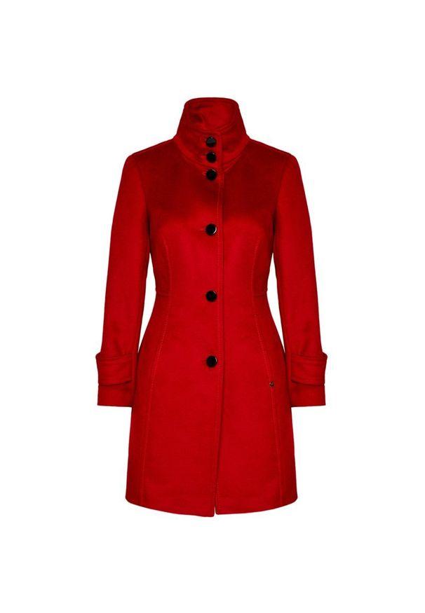 Czerwony płaszcz Pennyblack