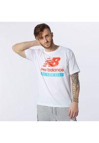 T-shirt New Balance na co dzień, z krótkim rękawem, casualowy