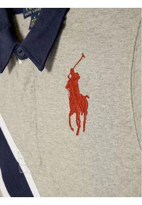 Szary t-shirt polo Polo Ralph Lauren polo