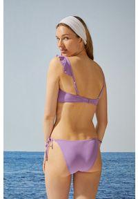 Women Secret - Biustonosz kąpielowy. Kolor: fioletowy. Materiał: dzianina #2