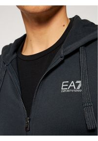 Niebieska bluza EA7 Emporio Armani #5