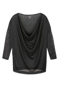 Czarny sweter TOP SECRET casualowy, na co dzień