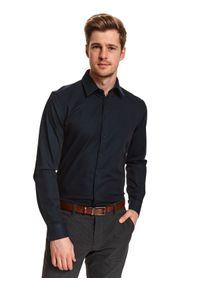 Niebieska koszula TOP SECRET elegancka