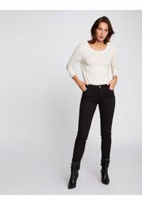 Morgan Jeansy 191-PETRA Czarny Skinny Fit. Kolor: czarny