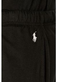 Polo Ralph Lauren - Szorty piżamowe. Kolor: czarny. Materiał: dzianina