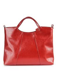 Czerwona torebka DAN-A elegancka