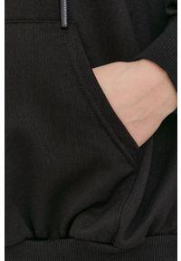 Answear Lab - Bluza. Kolor: czarny. Materiał: dzianina. Długość rękawa: długi rękaw. Długość: długie. Styl: wakacyjny