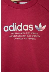 Bluza adidas Originals bez kaptura, casualowa