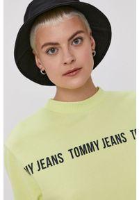 Bluza Tommy Jeans bez kaptura, z nadrukiem