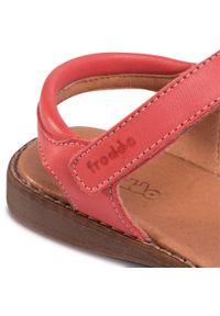 Czerwone sandały Froddo z aplikacjami, na lato, casualowe, na co dzień #7