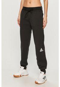 adidas Performance - Spodnie. Kolor: czarny