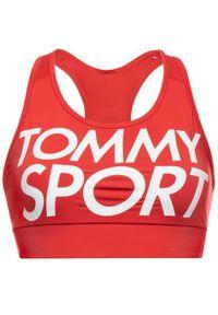 Czerwony top Tommy Sport sportowy